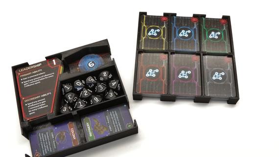 Twilight Imperium Cards and Dice Organizers