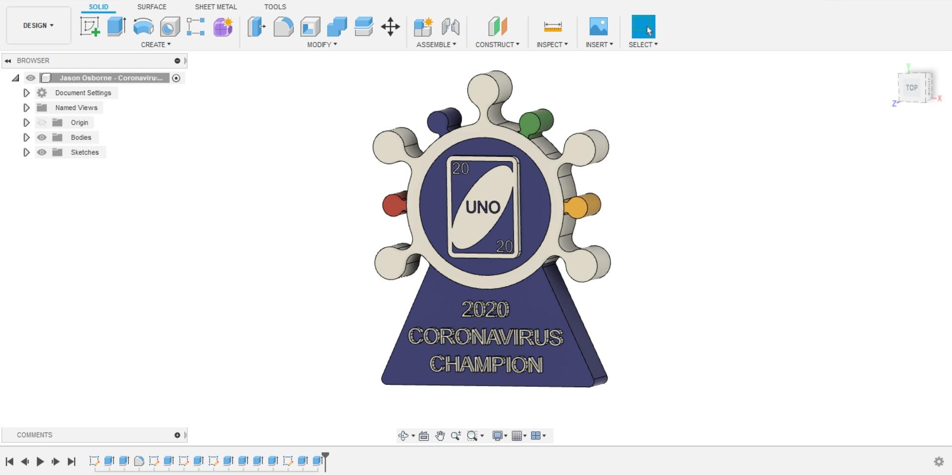 Fusion360 Design