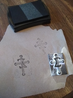 3D Printed Rubber Stamp