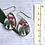Thumbnail: Red native flora earrings