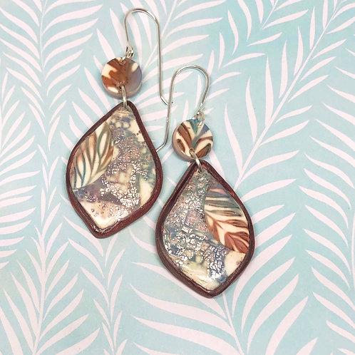 Folklore earthen earrings