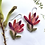 Thumbnail: Leucodendron flower earrings