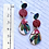 Thumbnail: Gorgeous red native dangles