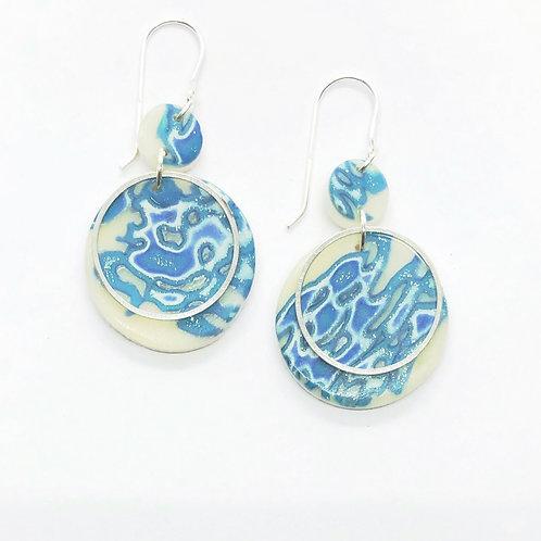 China blue dangles