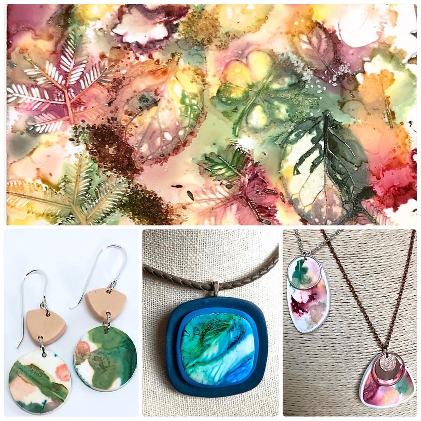 Botanical Inked Jewellery Workshop