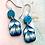 Thumbnail: Ocean wave earrings