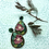 Thumbnail: Green and burgundy flower drops