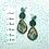 Thumbnail: Green leaves earrings