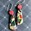 Thumbnail: Rosy natives dangly earrings