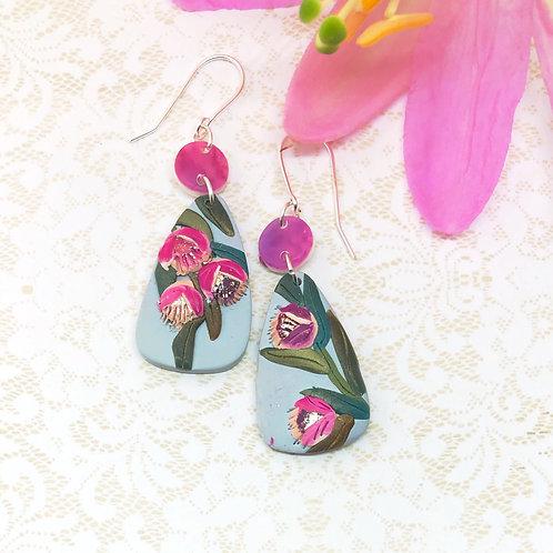 Pretty lilac dangles