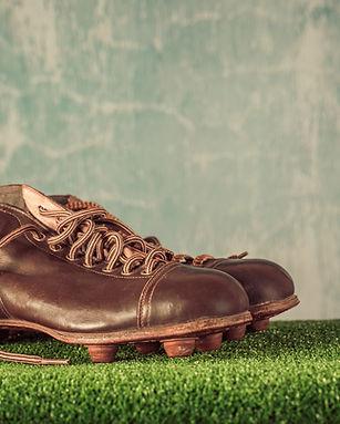 Alter Fußballschuh