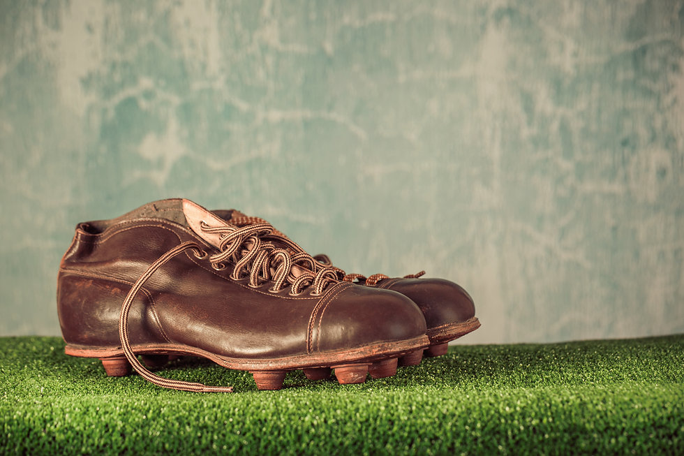 Old Soccer Cleats