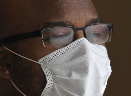 How To Keep Your Glasses From Fogging While Wearing a Mask