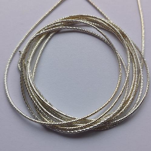 Silver No.8 Bright Check