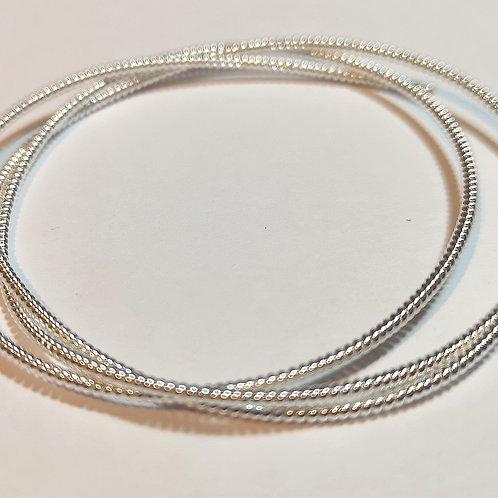 Silver No.2 Pearl Purl