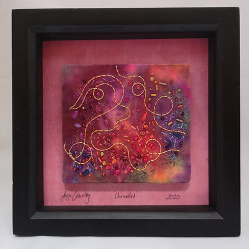 'Unravelled' - Original textile art by Sonja Galsworthy