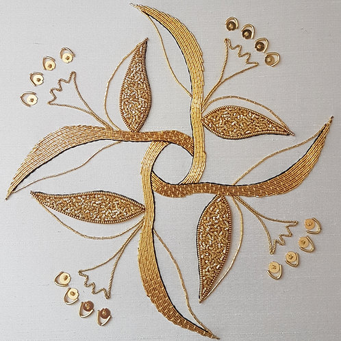 William Morris Inspired Goldwork Embroidery Kit