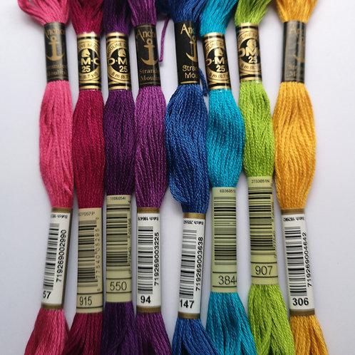 Stranded Cotton Theme Packs