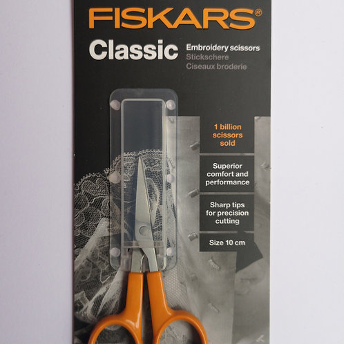 Fiskars Classic Embroidery Scissors 10cm
