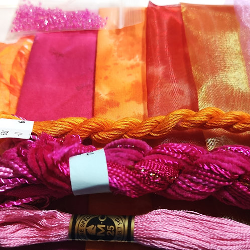 Experimental Fabric and Thread Packs