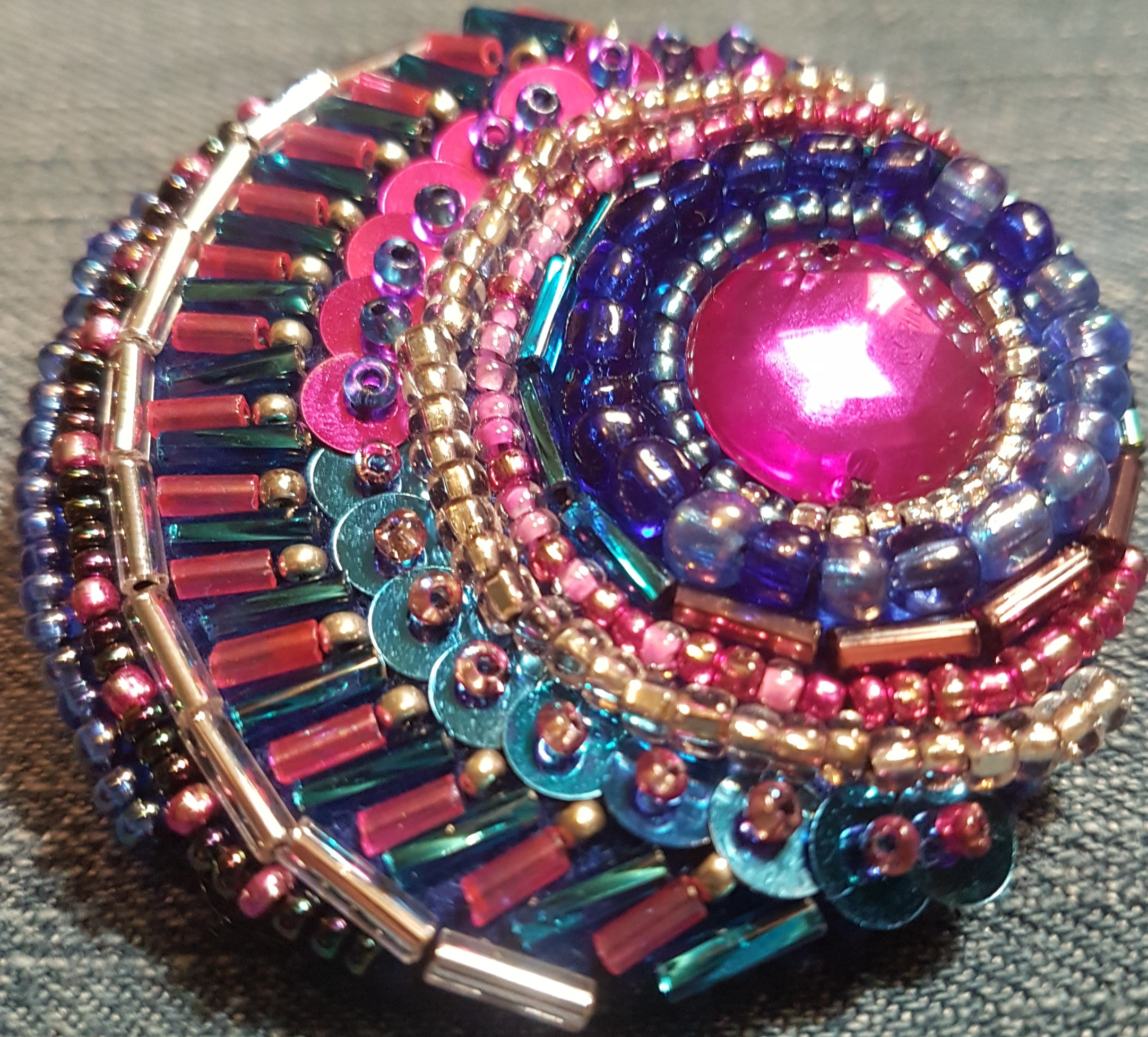Beads & Sequins in Embroidery