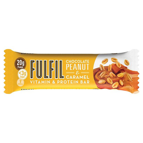 Fulfil Chocolate Peanut & Caramel Vitamin & Protein Bar