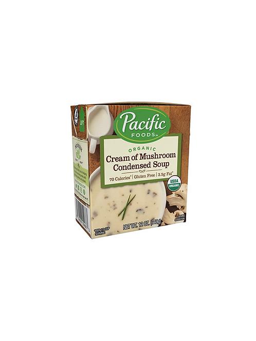 Pacific Foods Organic Cream of Mushroom Condensed Soup