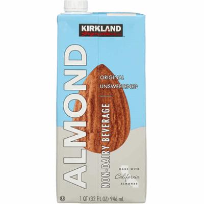Almond Milk Kirkland Unsweetened Original