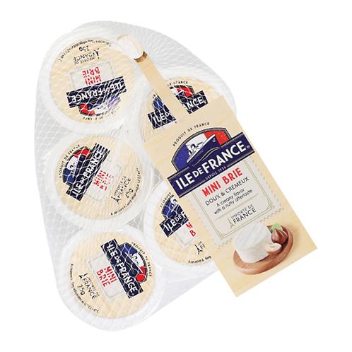 Mini Brie Packets Ile De France