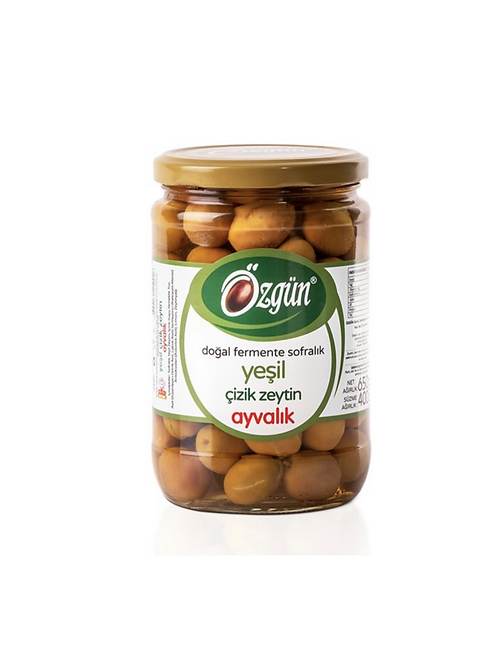 Unpitted Brined Green Olives