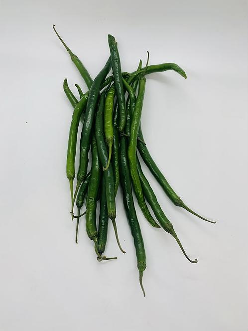 Mild green chili