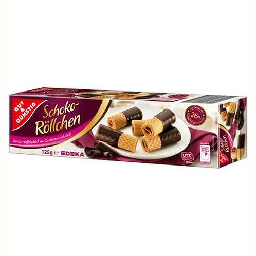 Dark Chocolate Waffle Rolls Gut & Günstig