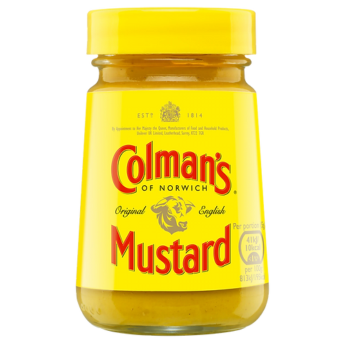 Colman's Original English Mustard 170gr