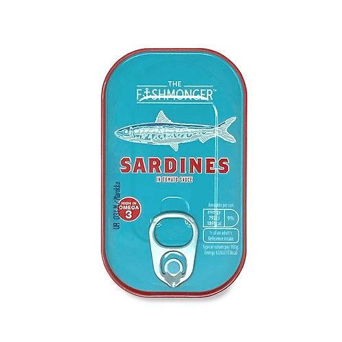 The Fishmonger Sardines In Tomato Sauce