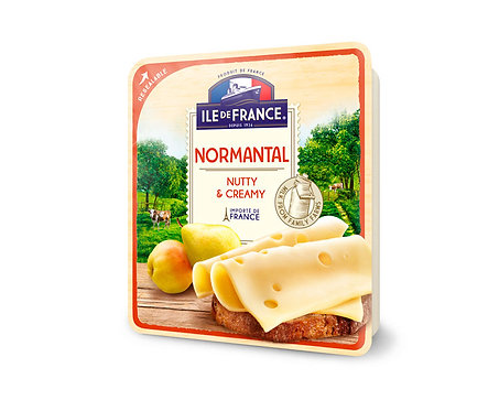 Ile De France Normantal Sliced Cheese