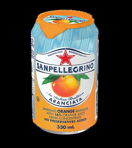 San Pellegrino Aranciata (canned)
