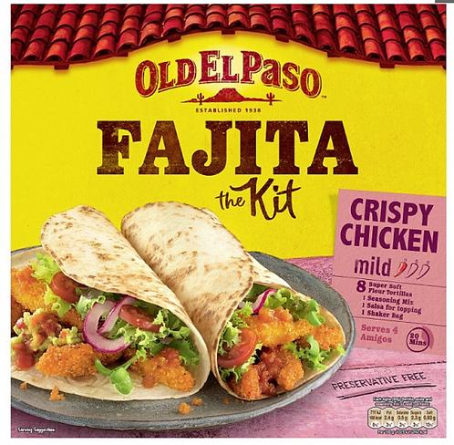 Fajita Kit Crispy Chicken
