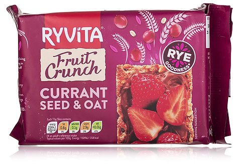 Ryvita Currant Seed & Oat Fruit Crunch