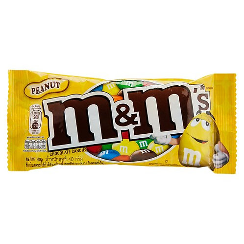 M&M's Milk Chocolate Covered Peanuts
