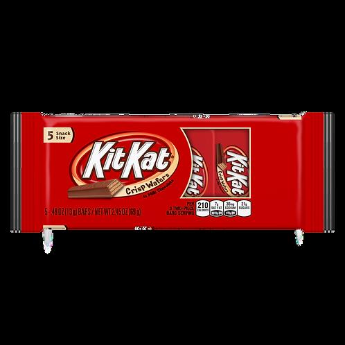 KitKat 5-Pack Snack Sized Milk Chocolate Crisp Wafers