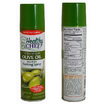 Extra Virgin Olive Oil Spray Healthy Chef