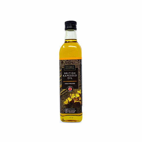 Specially Selected Cold Pressed British Rapeseed Oil