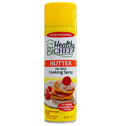 Butter Flavored Non-Stick Cooking Spray Healthy Chef