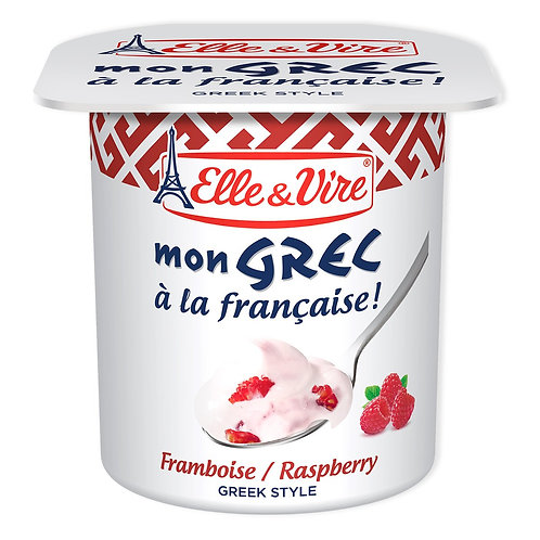 Elle & Vire Mon Grec Raspberry Yogurt