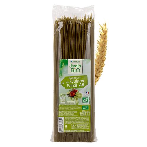 Jardin Bio Quinoa-Parsley-Garlic Spaghetti Pasta