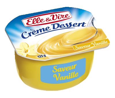 Elle & Vire Saveur Vanille Crème Dessert