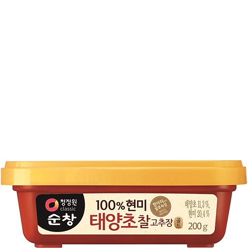 Chung Jung One 100% Brown Rice Hot Pepper Paste