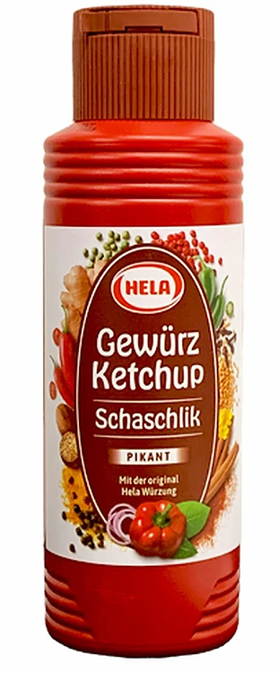 HELA Seasoned Ketchup