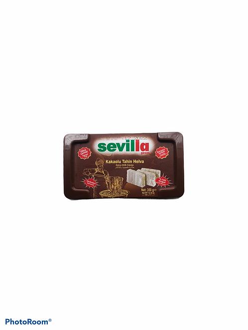 Halva with Cacao Snack Turkish