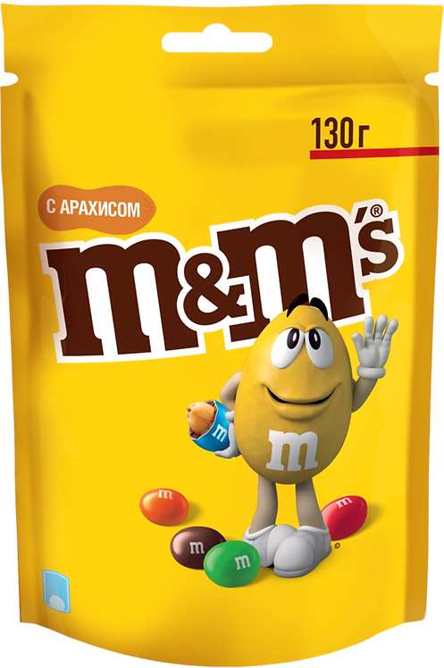 M&M's Chocolate Candies With Peanuts